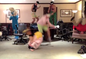 Villanova Golf Team Viral Video - The Harlem Shake