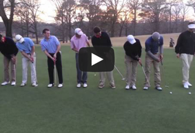 9 Putts Into One Hole-Campbell University PGAM