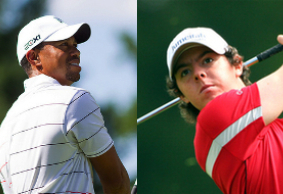 Tiger Woods and Rory McIlory play private match in record time